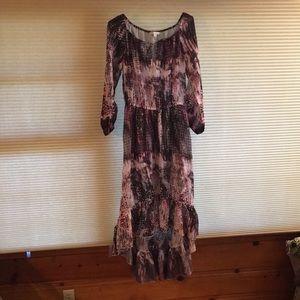 "Long ""S"" Boston Proper Summer Dress"
